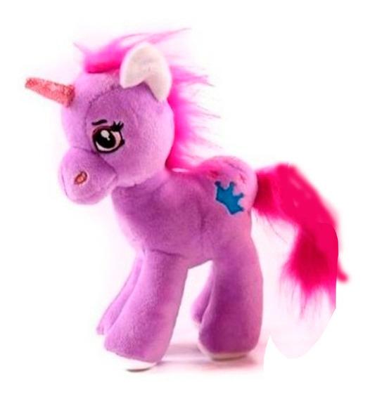 Peluche Unicornio Violeta 35 Cm
