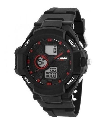 Relógio Mormaii Masculino Anadigi 100 M - Mo0b030b/8r