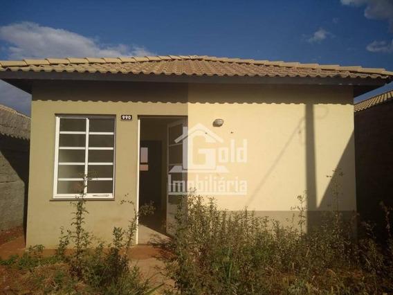 Casa Com 2 Dormitórios Para Alugar, 50 M² Por R$ 550/mês - Cristo Redentor - Ribeirão Preto/sp - Ca1433