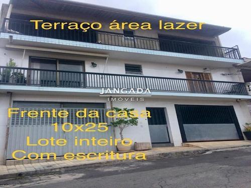 Duas Otimas Casas No Terreno, Uma Sede Outra Edicula A Venda - 11412