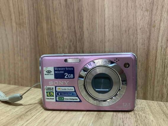 Câmera Sony 12.1 Megapixels Cyber Shot