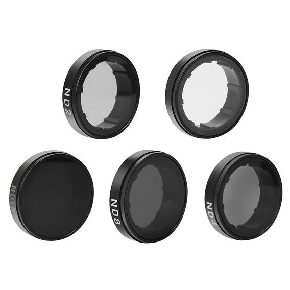3*andoer Lens Rodada Filtros Set Kit (nd2 / Nd4 / Nd8 / Nd16