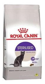 Ração Royal Canin Sterilised Gatos Adultos Castrados 7,5kg.