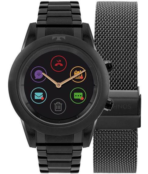 Relógio Masculino Technos Connect Duo P01ad/4p