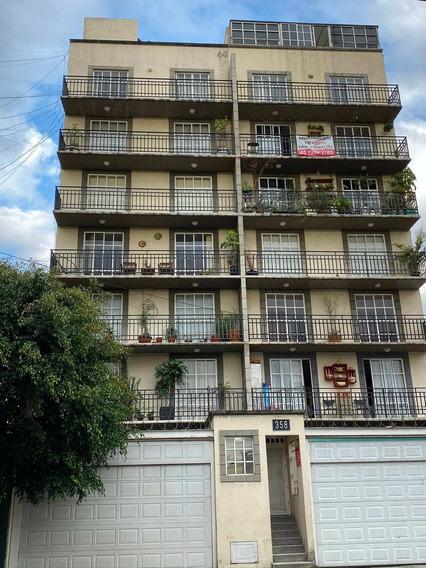 Estrena Departamento Remodelado En La Roma Sur