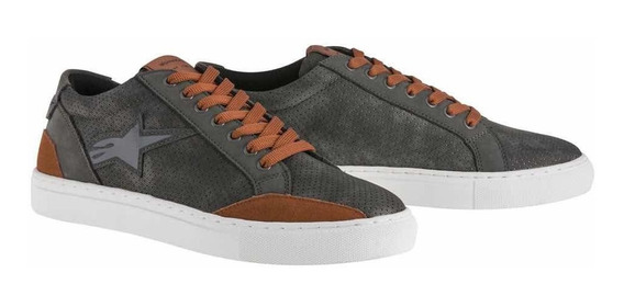 Tenis Alpinestars Ace Grey Brown Hombre Sale