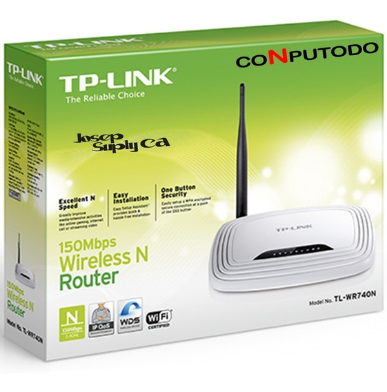 Router Tp-link Tl-wr740 N 150 Mbps Wifi 1 Antena Nuevo