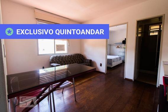 Apartamento No 5º Andar Com 1 Dormitório - Id: 892989304 - 289304