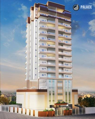 Imagem 1 de 5 de Apartamento Com 1 Dormitório À Venda, 51 M² Por R$ 295.159,30 - Aviação - Praia Grande/sp - Ap1663