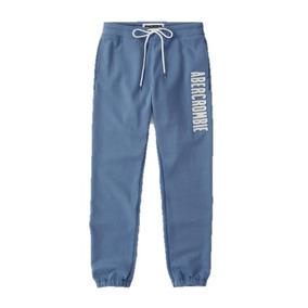 Calça De Moletom Azul Tamanho Gg Abercrombie & Fitch