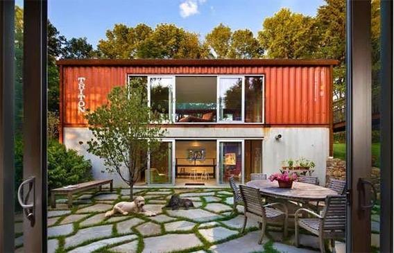 Loft Casa Container Contenedor Sustentable Vivienda (12)
