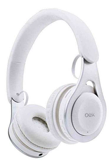 Fone De Ouvido Bluetooth Headset Drop Branco Hs306 - Oex