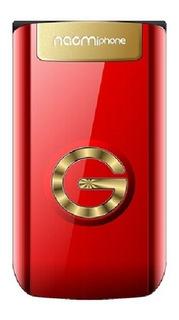 Celular Flip Tipo Folder Naomi Gold Envio Gratis
