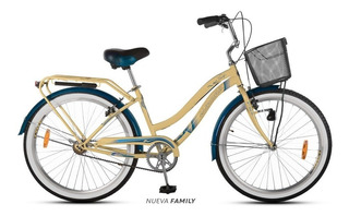 Bicicleta Aurora Playera Family Alta Calidad Y Resistencia