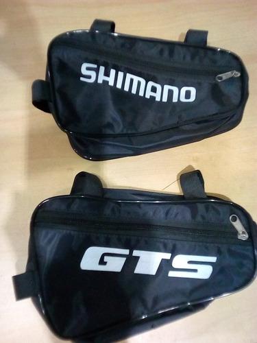Bolsa Para Quadro Mtb Shimano E Gts (preto)