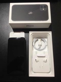 iPhone 11 De 64gb Preto Completo Nf (1 Mês De Uso)