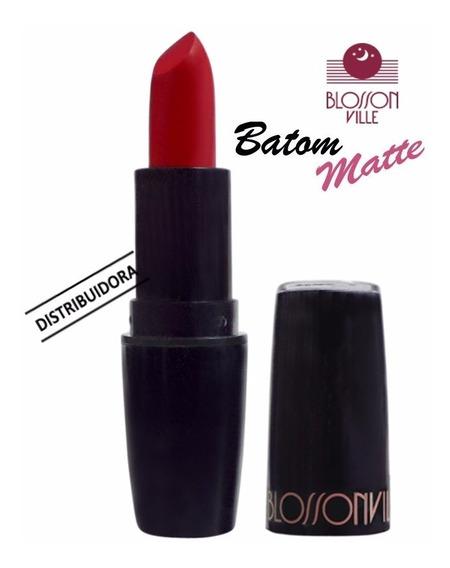 Kit 2 Batom Matte Sua Maquiagem Em 9 Tons 4g - Blosson Ville