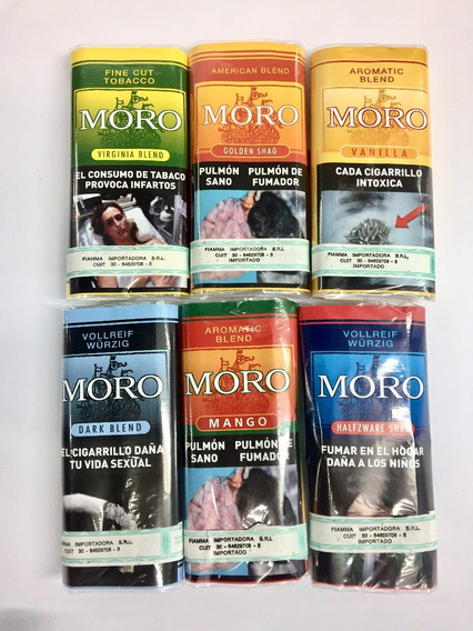 Tabaco Moro 30gr Alemania Para Armar Cigarrillos Local Once