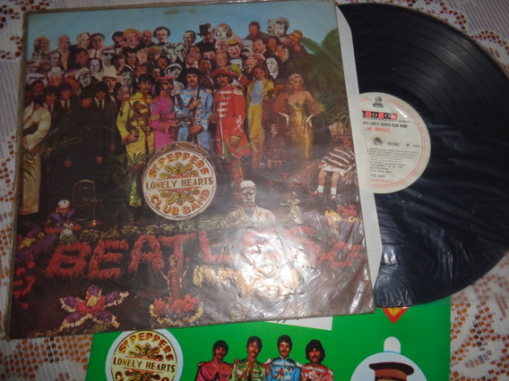 Lp Beatles Sgt Peppers- Original 1967, Mono