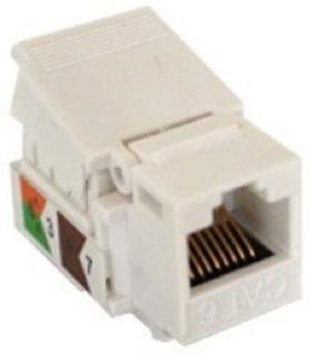 Conector Jack Sin Pinzas Rj45 Cat6 Ens-jtl6wh Blanco