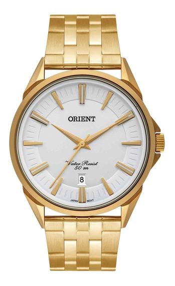 Relógio Orient Masculino Mgss1190 S1kx Dourado