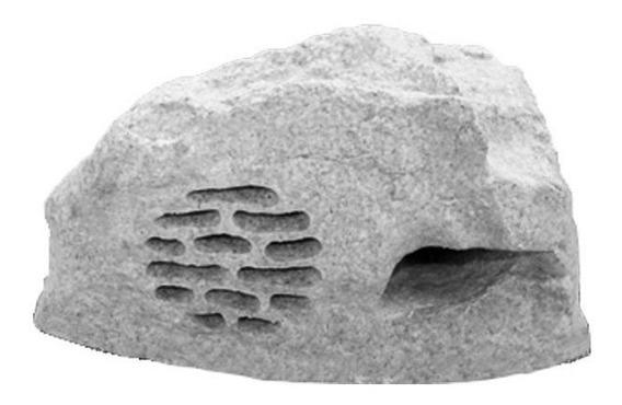 Caixa Pedra Voxpd6cz Passiva 6 Polegadas 100w Cinza Voxtron