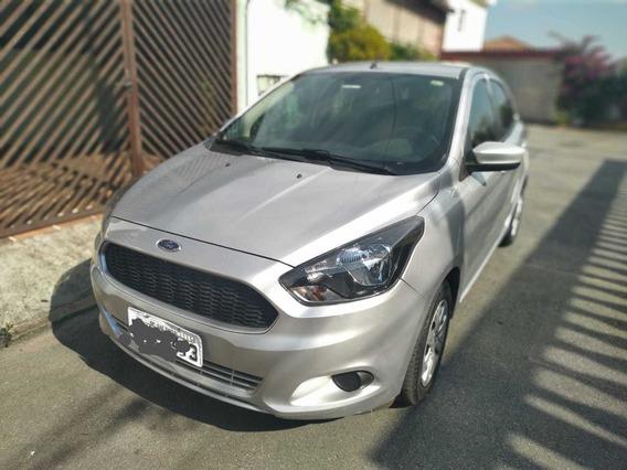 Ford Ka Se 1.0 Prata Flex - Novo