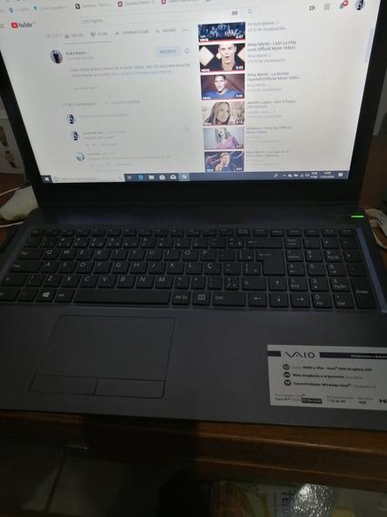 Notebook Vaio 15.6 1tb 4gb Core I5