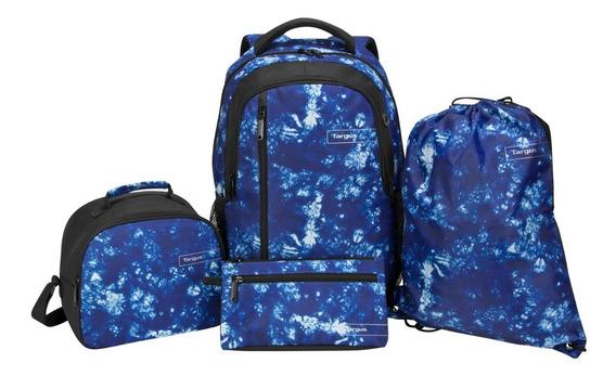 Pack Targus Mochila 15,6 Morral Lonchera Estuche Galaxia