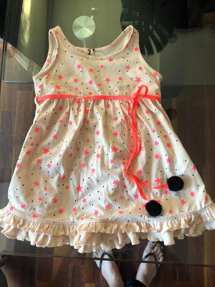Vestido Beba 18 Meses Little Akiabara