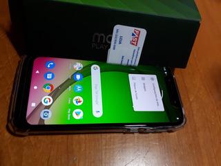 Celular Moto G7 Play Com Nota Fiscal E Garantia