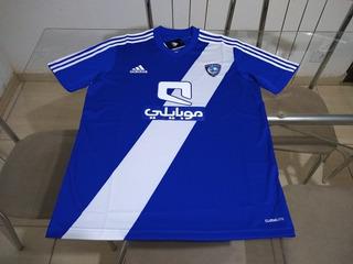 Camisa Oficial adidas Time Futebol Arabia Saudita Al Hilal