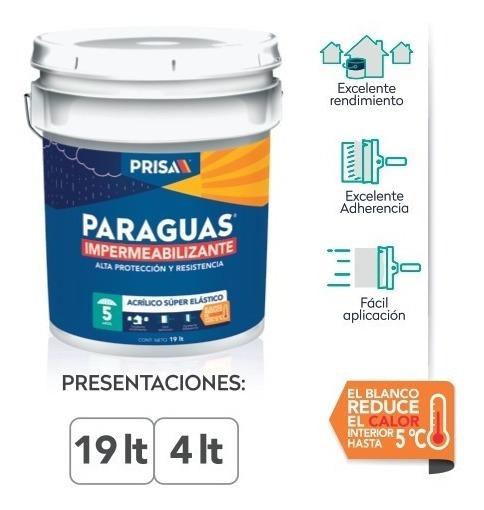Impermeabilizante Paraguas 5 Años/3 Cubetas