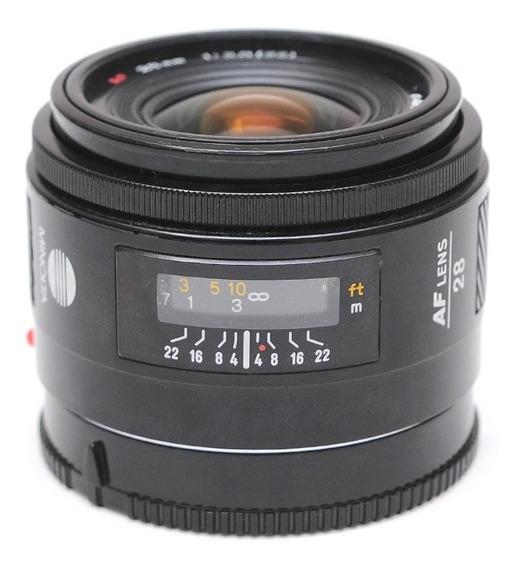 Minolta Af 28mm F/2.8 P/ Sony A99 A900 A77 A65 A37 A290 A58