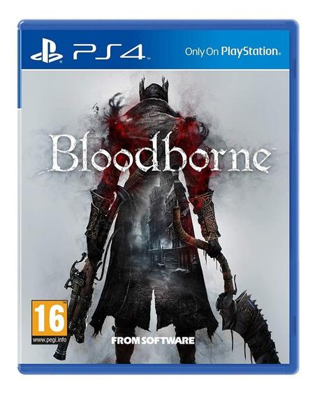 Jogo Bloodborne Ps4 Mídia Física Dublado Opção Frete 12,00