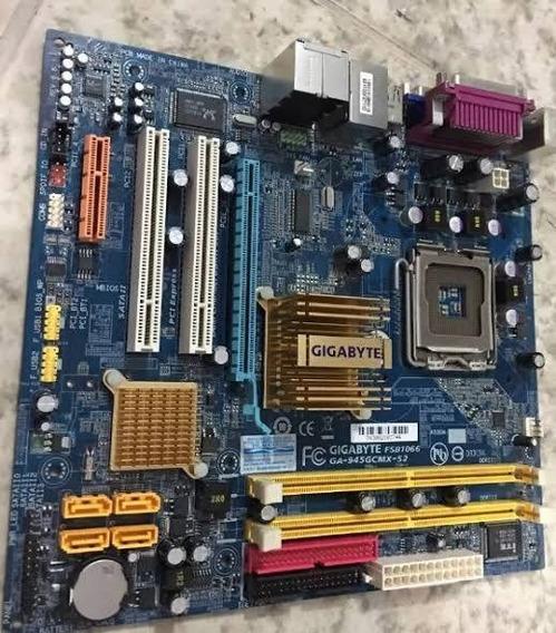 Placa Mãe Gigabyte + Processador Pentium