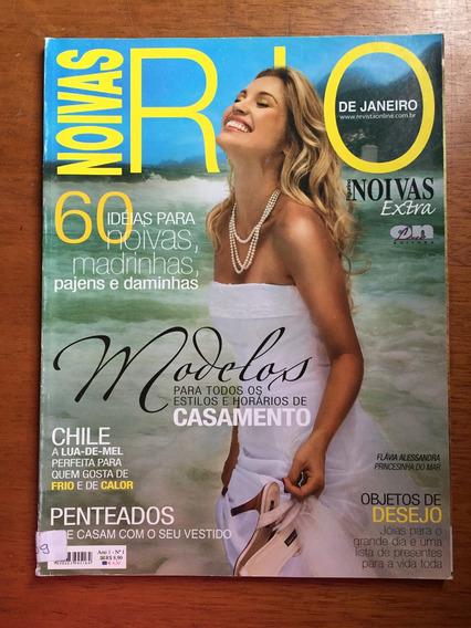 Revista Noivas 1 Rio De Janeiro Flávia Alessandra J230