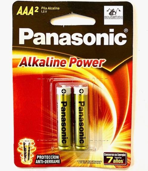 Pilas Triple A Panasonic Alcalinas Originales - Tienda
