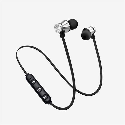 Fone De Ouvido Bluetooth Intra Auricular Preto/prata