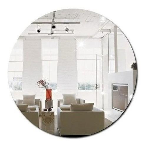 Imagem 1 de 6 de Espelho Decorativo Acrílico 40x40 Cm - Promoção