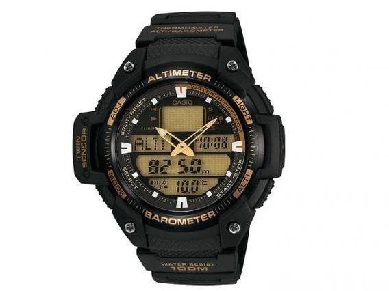Relógio Casio Outgear Masculino Termômetro Sgw400h Original