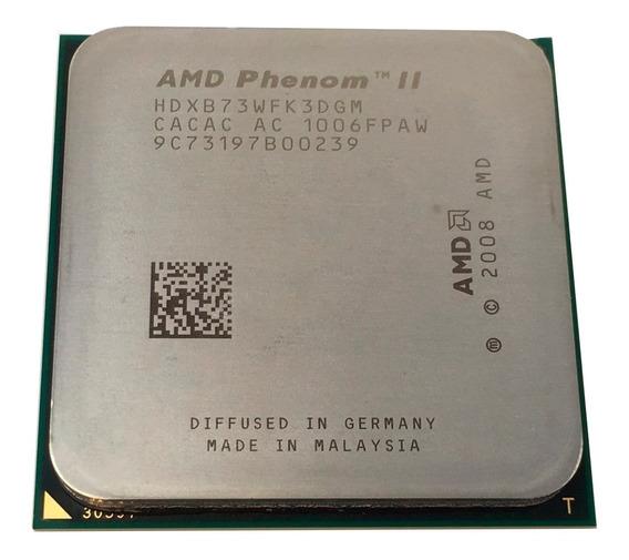Processador Amd Phenom Ii X3 B73 2.8ghz Am3 Hdxb73wfk3dgi