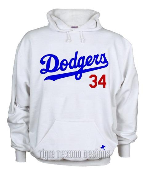 Sudadera Dodgers Los Angeles Mod. 01 By Tigre Texano Designs