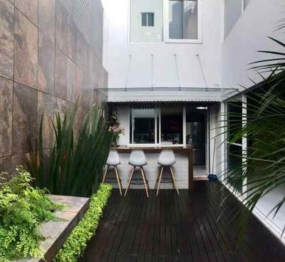 Mixcoac, Se Vende Excelente Y Cálida Casa, Muy Buena Zona Y Distribución
