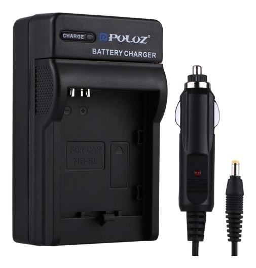 Puluz Camara Digital Cargador Bateria Vehiculo Para C1pm