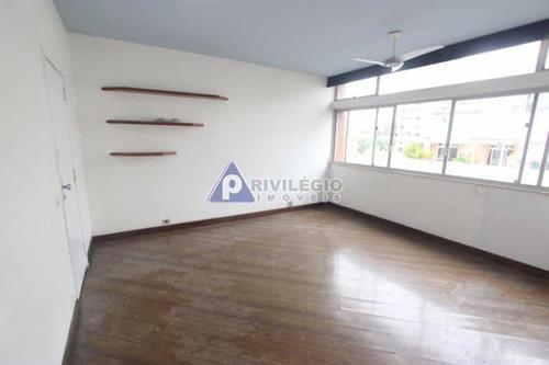 Apartamento À Venda, 3 Quartos, 1 Suíte, 2 Vagas, Laranjeiras - Rio De Janeiro/rj - 21324