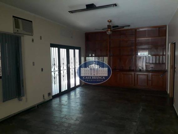 Casa Com 3 Dormitórios À Venda Ou Locação , 260 M² Por R$ 600.000 - Centro - Araçatuba/sp - Ca1372