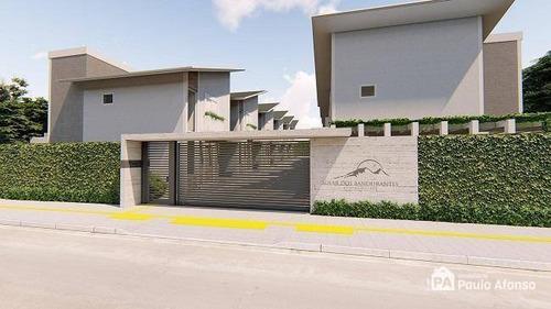Casa Com 3 Dormitórios À Venda, 98 M² Por R$ 348.000,00 - Jardim Bandeirantes - Poços De Caldas/mg - Ca0168