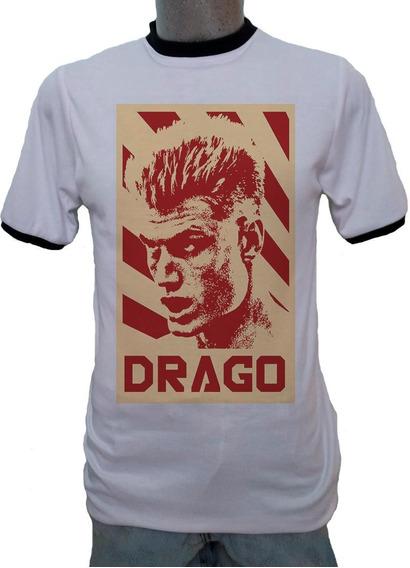 Playera Ringer Ivan Drago Rocky 4