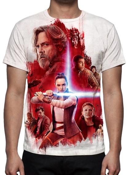 Camiseta Star Wars Os Últimos Jedi Mod 03